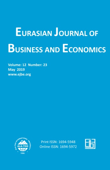 Eurasian Journal of Business and Economics